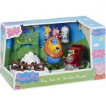 Peppa Pig Day Out At The Zoo Playset