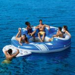 Bestway Blue Caribbean 6-Person Floating Island