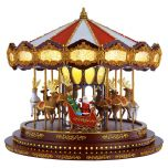 Mr. Christmas Deluxe Carousel with 40 Songs & Synchronized Lights