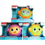 Fisher-Price Bright Beats Spin & Crawl Tumble Ball Assorted