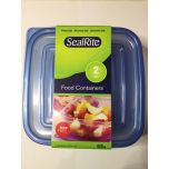 Seal Rite 2 pack food containers 660ml Bpa Free