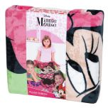 Minnie Mouse Plush Throw Blanket 150cm x 200cm