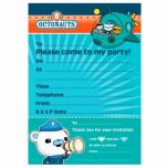 Octonauts 20 Pack Party Invitations