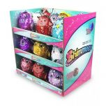 Shimmeez 4 Inch Clip On Reversible Sequin Plush Animals Assorted