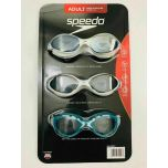 Speedo Adult Swim Goggles 3 Pack