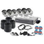 Swann DVR8-4600 - 8 Channel 1080p Digital Video Recorder & 8 x PRO-A855 Cameras