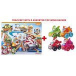 Top Wing Mission Ready Track Playset With 2 Top Wing Racers