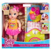 Baby Alive Darci's Dance Class Blonde Hair Doll