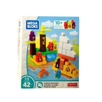 Mega Bloks Sailboat Adventure 42-pcs Playset