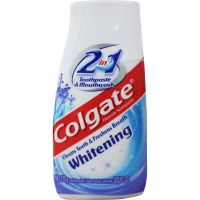 Colgate 2in1 Whitening Toothpaste & Mouthwash 130g