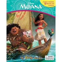 Disney Moana My Busy Book With 12 Figures