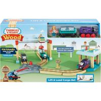 Fisher Price Thomas & Friends Wood Lift & Load Cargo Set