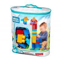 Fisher-Price Mega Blocks Big Building Bag 60 Pcs Classic