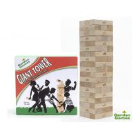 Garden Games Giant Tower Massive Tumbling Kids Jenga Game Builds 0.9m to 1.5m