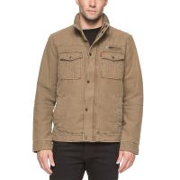 Levi's Mens Full Zip Jacket – Khaki-M