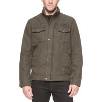 Levi's Mens Full Zip Jacket - Green-M
