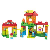 Mega Bloks 120 Piece Treehouse Playdate Building Set