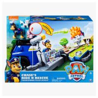 Paw Patrol Chase's Ride n Rescue Vehicle Playset