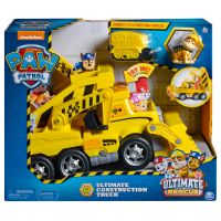 PAW Patrol Ultimate Rescue Construction Truck with Lights and Sound