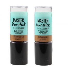 2 X Maybelline Master Blur Stick Tinted Primer 130 Medium Tan