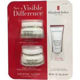 3 Pack Elizabeth Arden Visible Difference Refining Moisture Cream Complex