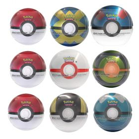 3 Pokemon TCG PokeBall Tins Series 5 Exclusive Gift Pack Assorted