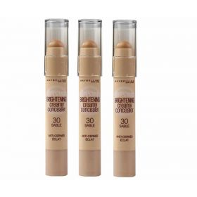 3 X Maybelline Dream Brightening Creamy Concealer 30 Sable