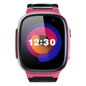 360 Kids Smart Watch E1 (4G/LTE. Patch Trace, Video Call, 1 Click SOS) Pink