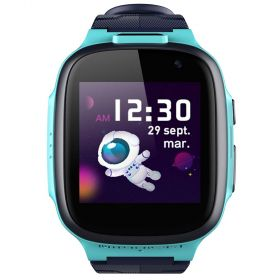 360 Kids Smart Watch E2 (4G/LTE WIFI, Dual Cameras, GPS tracking, IPX8 Waterproof) Blue