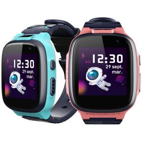360 Kids Smart Watch E2 (4G/LTE WIFI, Dual Cameras, GPS tracking, IPX8 Waterproof)