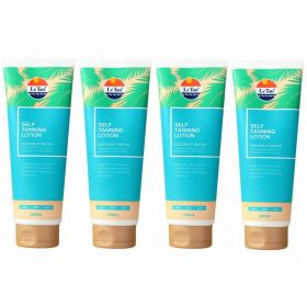 4 x LE TAN 200mL Self Tanning Lotion Coconut Water