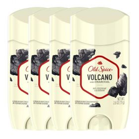 4 X Old Spice Volcano With Charcoal Antiperspirant & Deodorant