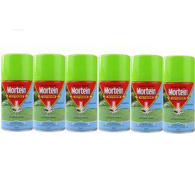 6 X Mortein Naturgard Outdoor Odourless System Refill 154g