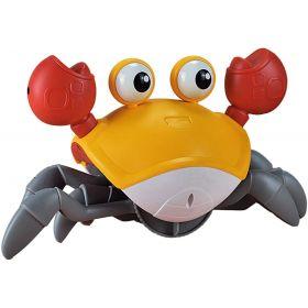 Cute Crab Musical Walking Toy