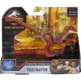 Jurassic World Velociraptor Jumping Savage Strike Dinosaur