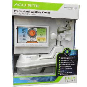 AcuRite Pro Wireless Weather Station with 5-in-1 Sensor