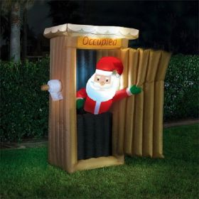 Christmas Pop In And Out Santa Loo