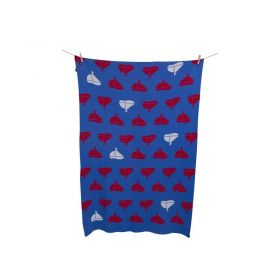 ALEK AND LUKA KIDS Yacht Boat BLANKET