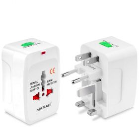 All in One Universal Worldwide Travel Wall Charger With Surge Protector