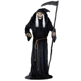 Animated Grim Reaper With Lights & Sounds