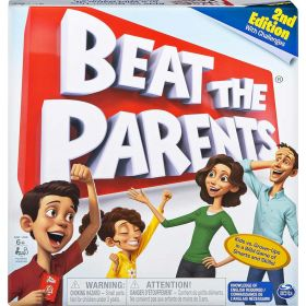 Beat The Parents Family Board Game of Kids vs Parents with Wacky Challenges