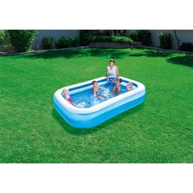Bestway Blue Rectangular Inflatable Pool