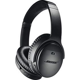 Bose Quiet Comfort 35 Wireless Bluetooth Headphones, Noise Cancelling - Black