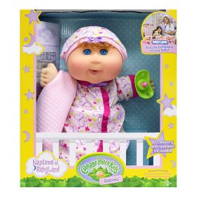 Cabbage Patch Kids 12.5 inch Naptime Babies (Pink Sleep Sack)