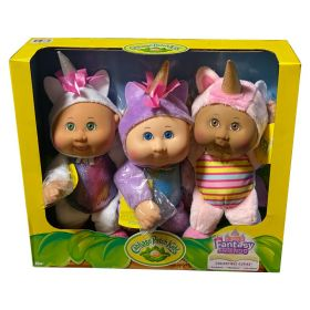 Cabbage Patch Kids Fantasy Friends Collectibles 3 Pack