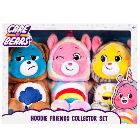 Care Bear Hoodie Friends 3 Pack Collector Set