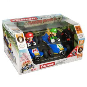 Carrera Mario Kart Mario and Luigi Remote Control Cars - 2 Pack