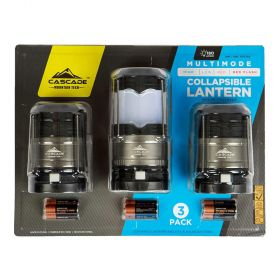 Cascade Pop-Up LED Lantern 3 Pack