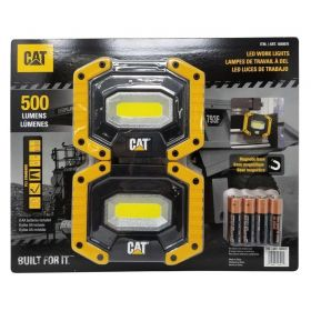 CAT LED Work Lights 500 Lumens 2 Pack