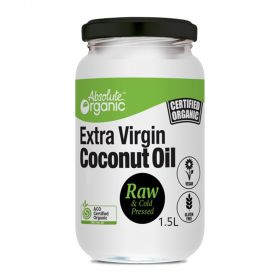 Extra Virgin Organic Coconut Oil 1.5 litre